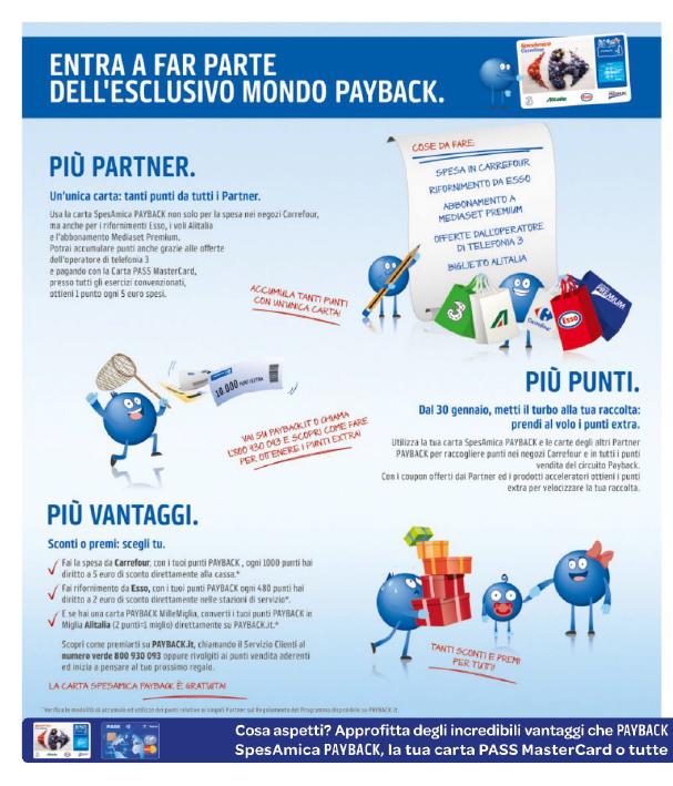 Carta Payback | Carrefour
